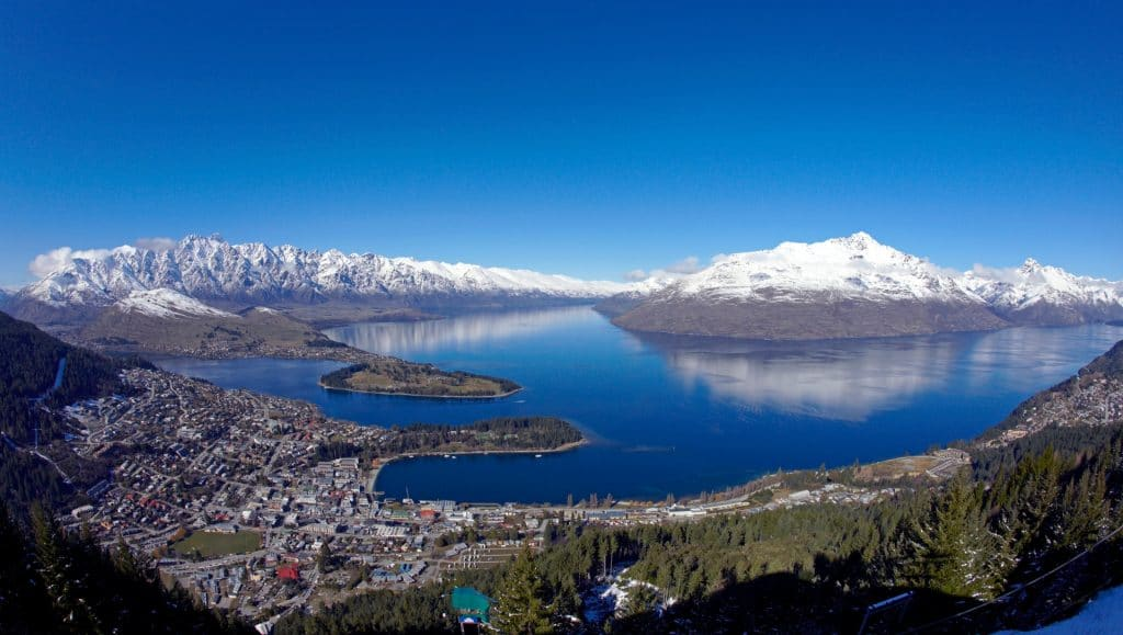 View of Queenstown